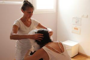 Massage tête shiatsu